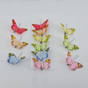 Clip farfalle cm.8,5 (pz.12.)