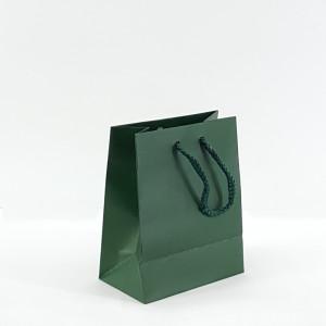 Shopper shop 12x15 verde bosco (12pz)