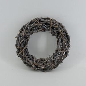 Corona legno d.30 grigio
