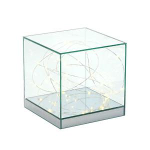 Alzata LED vetro 30x30