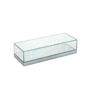 Alzata LED vetro 40x15